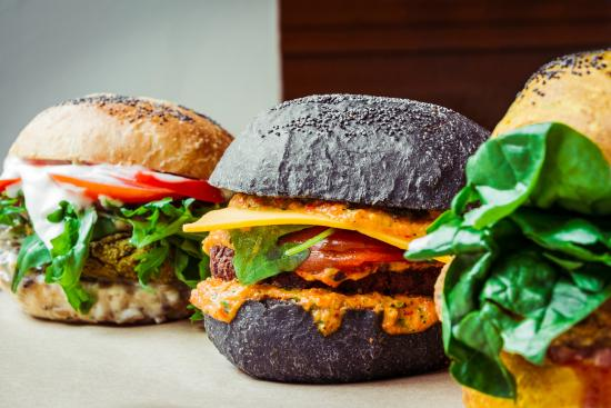 FLOWER BURGER – VEGAN