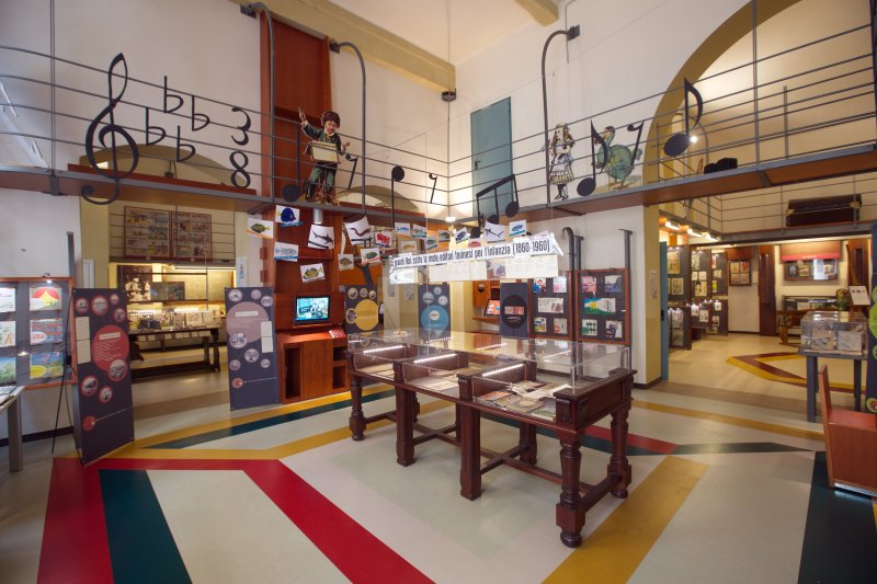 MUSLI – Museo della Scuola e del Libro per l'Infanzia – Museum of the School and of the Book for Children