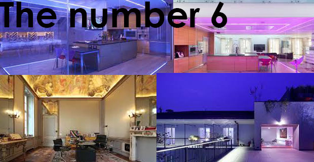 THE NUMBER 6: la casa più bella del mondo – THE NUMBER 6: the most beautiful house in the world